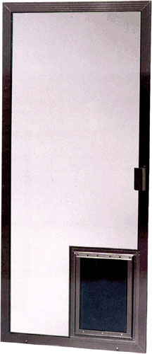 Pet Door For Screen Screen Door With Pet Door Screen Door