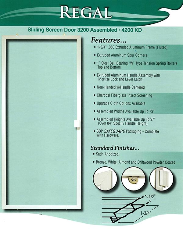 Sliding Patio Screen Doors – Mobile Screen Repair|Screen